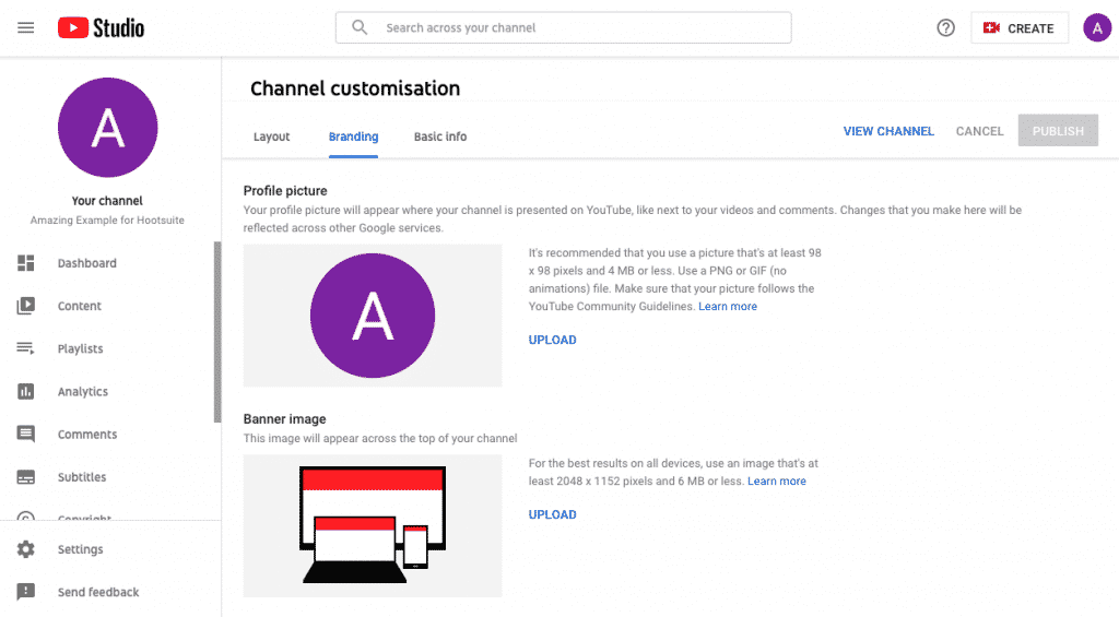How to create many YouTube channels?