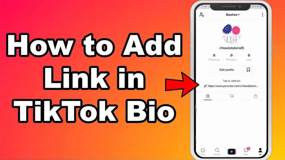 TikTok link in bio: How To Add A Link To Your TikTok Bio