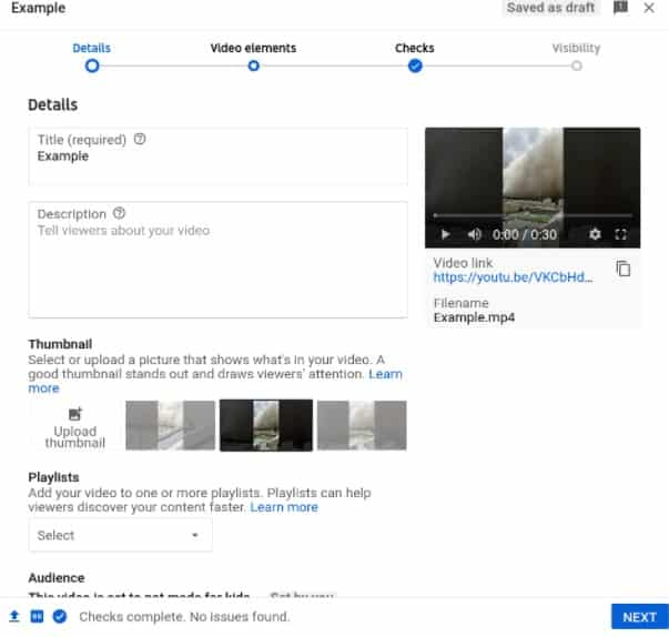 Add details to your video