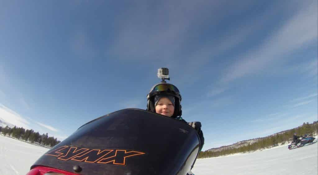 GoPro is a popular choice for sport videos