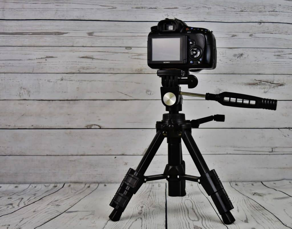 set up your camera before to film